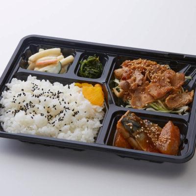 生姜焼き&鯖味噌煮弁当