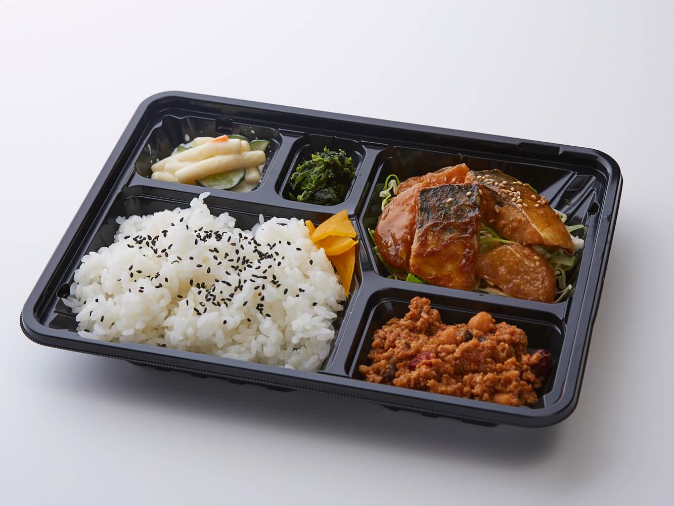 鯖味噌煮&選べるアジアン惣菜弁当